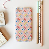 Phone Case -  Coffee Tin Pattern