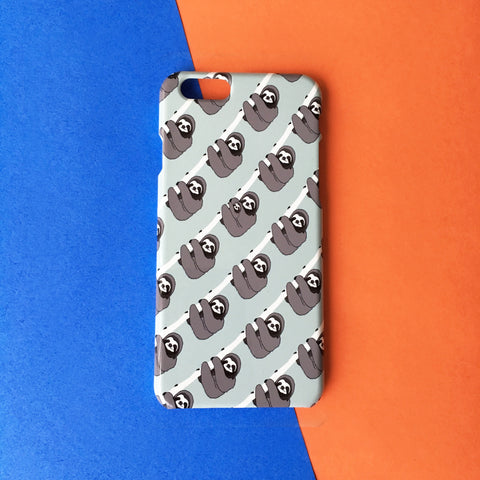 Phone Case - Sloth Pattern