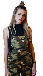 Camouflage Loose Jumpsuit