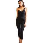 One Shoulder Jump suit