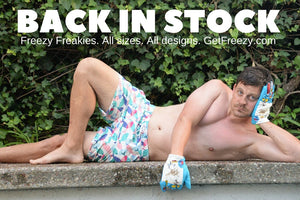 All Freezy Freakies are officially back in stock!