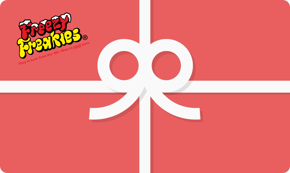 Gift cards now available for Freezy Freakies