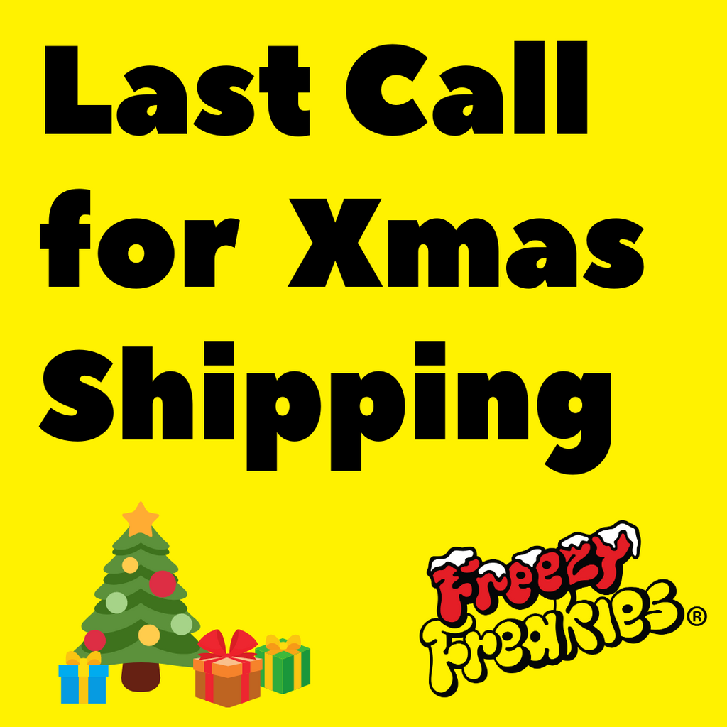 Last call for Christmas Shipping: midnight 12/14