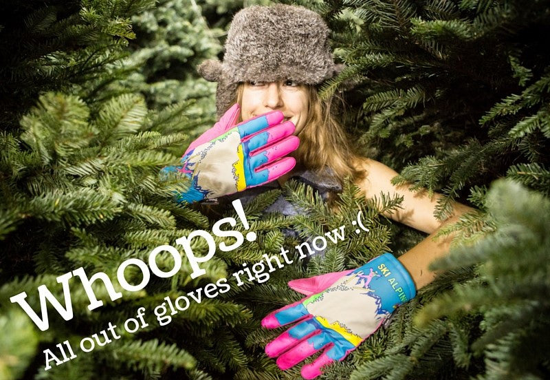 Gloves will be back in stock soon!