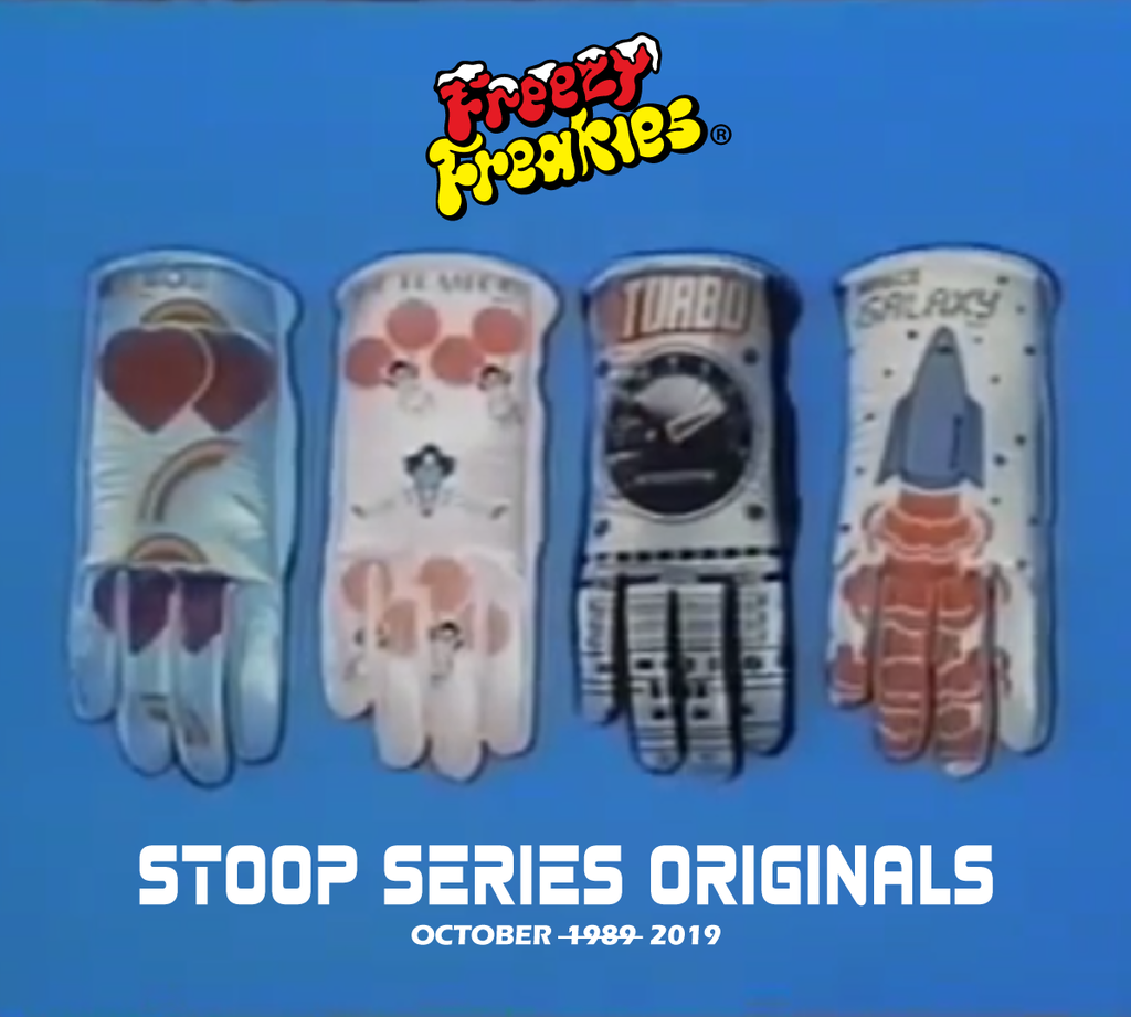 Wanna see the original Freezy Freakies? We'll be posting pics of them all October long!