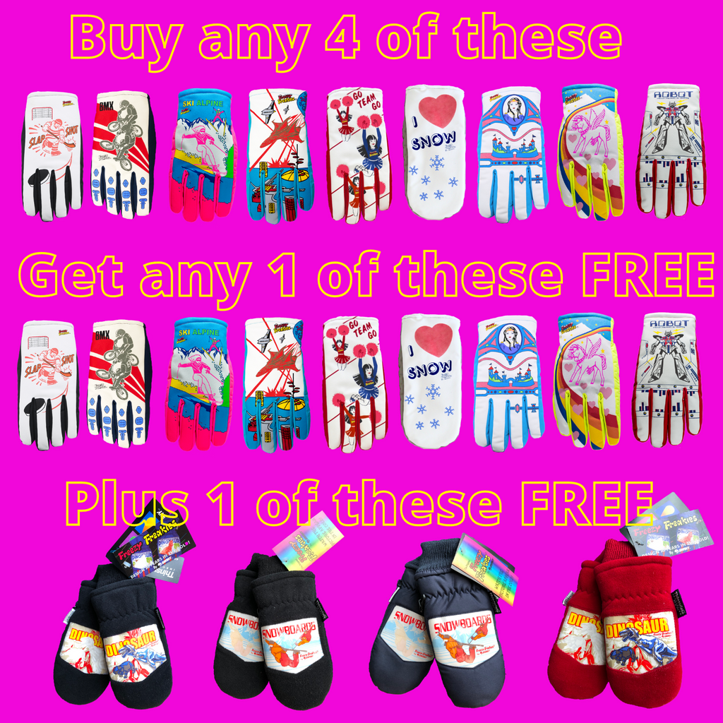 Freezy Freakies Black Friday deal buy 4 get 1 normal pair free plus one old school pair free