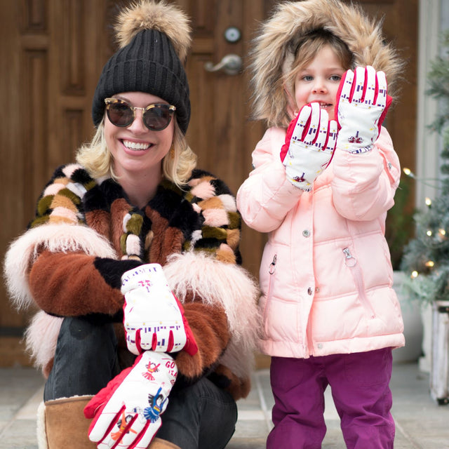 Freezy Freakies gloves come in kid and adult sizes