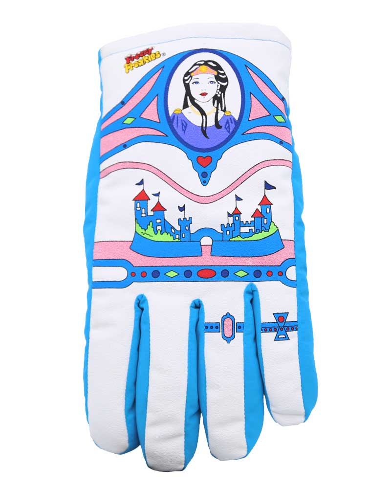 Empress princess queen Freezy Freakies color-changing gloves