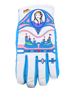 Empress Princess Queen of the Universe Freezy Freakies color-retro changing winter gloves from the 80s