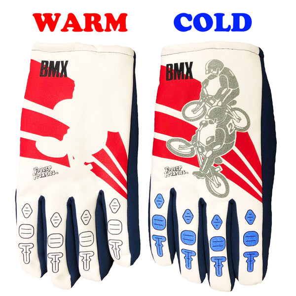 Freezy Freakies BMX color-changing gloves warm and cold