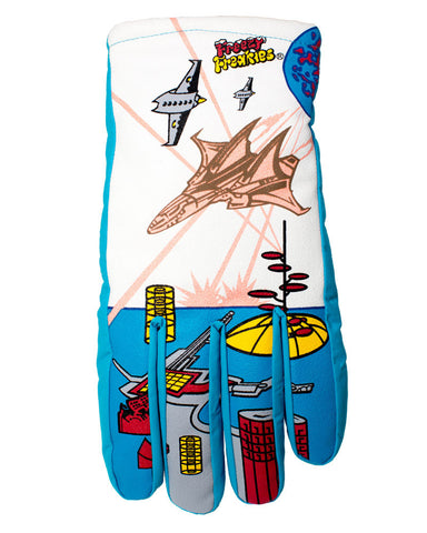 Fighter Jet Freezy Freakies gloves for adults