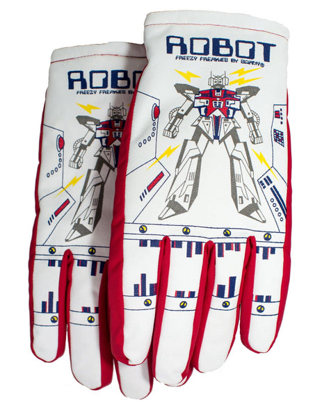 Robot Freezy Freakies gloves overlapping