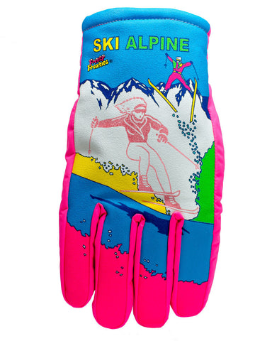 Ski Alpine Freezy Freakies gloves for adults