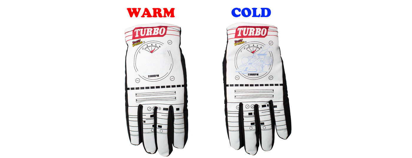 Turbo Freezy Freakies gloves for adults warm cold comparison