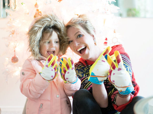 Unicorn Freezy Freakies gloves for kids and adults