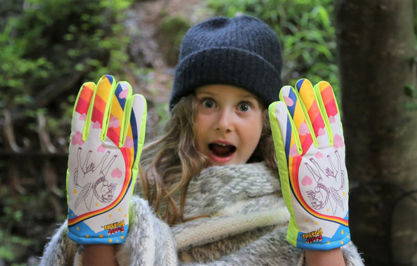 Unicorn Freezy Freakies gloves are wow-worthy