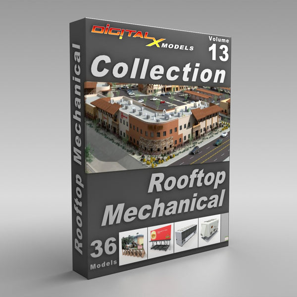 Volume 13 - Rooftop Mechanical