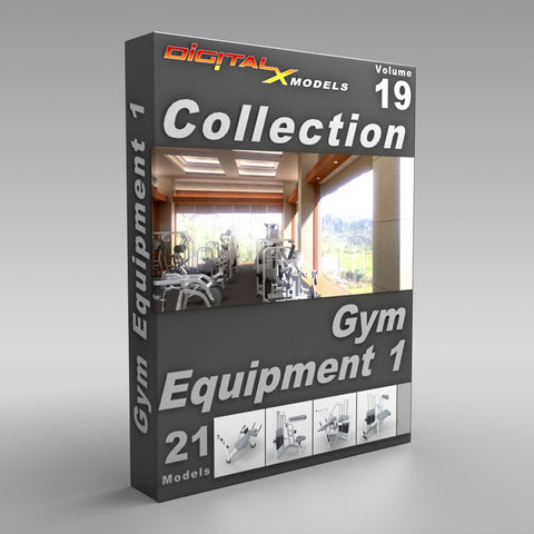 Volume 19 - Gym Equipment 1