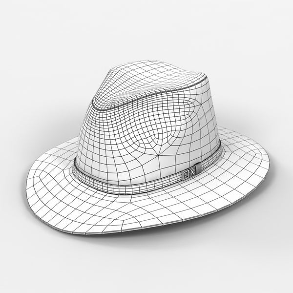 Men s Panama Hat - Free 3D Model Download  db948fed6b06