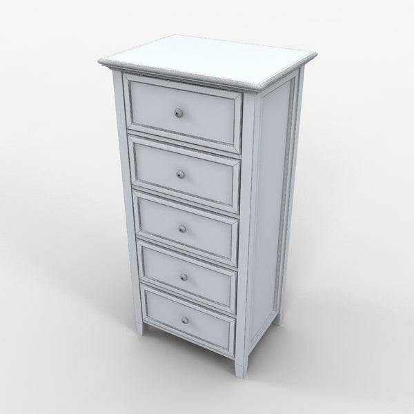 Free Model 15 - Chest of Drawers