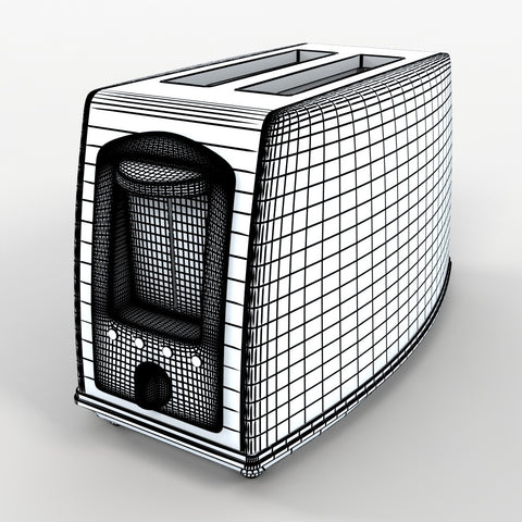 Free Model 23 - Toaster