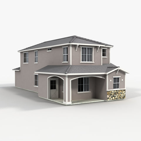 Free Model 30 - House