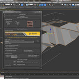 Free Maxscript - Displacement Roof Surfaces