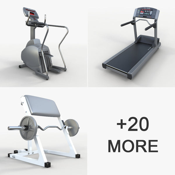 Volume 20 - Gym Equipment 2