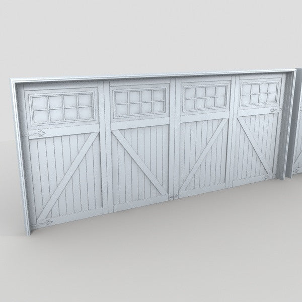 Beau Free Model 17   Garage Door