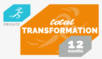 """Total Transformation"" - 12 month commitment"