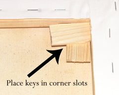 How To Tighten a Stretched Canvas – Cowan Office Supplies