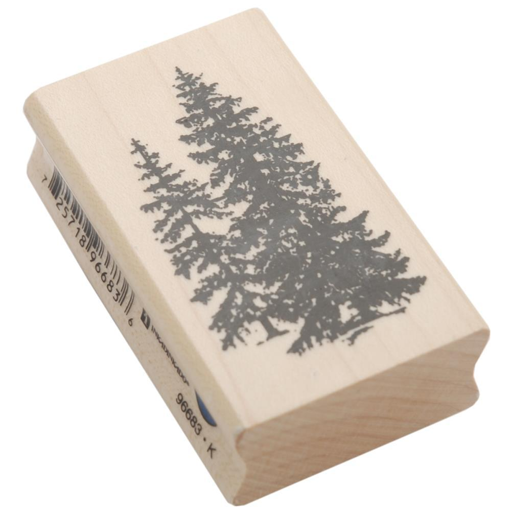 Pine Trees Stamp