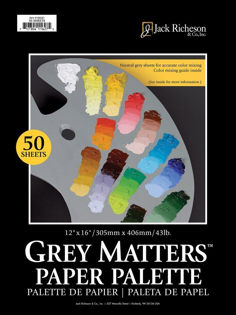 Grey Matters Toned Palette Pad