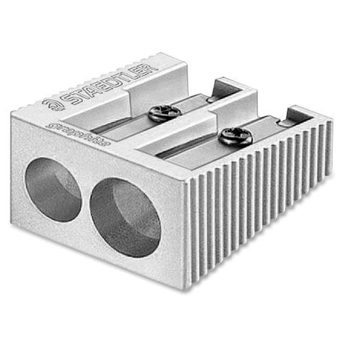 Aluminum Pencil Sharpener 2-Hole