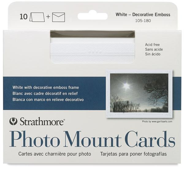Strathmore Photo Mount Cards