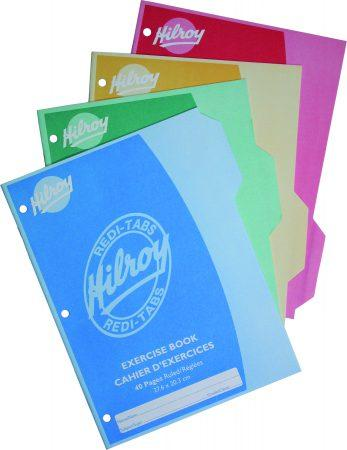 Redi-Tabs Exercise Books 4pk