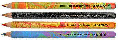 Koh-I-Noor Magic FX Jumbo Pencils