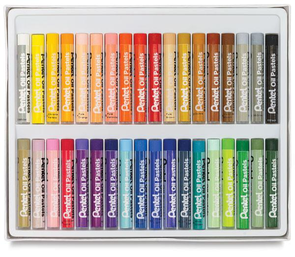 Pentel Oil Pastel Sets
