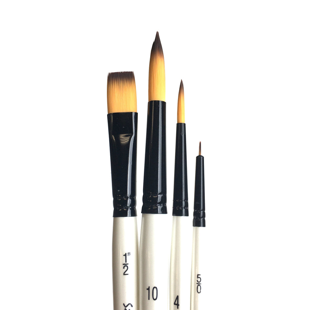 Simply Simmons Brush Sets - Synthetic Short Handled