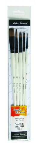 Simply Simmons Brush Sets - Synthetic Long Handled
