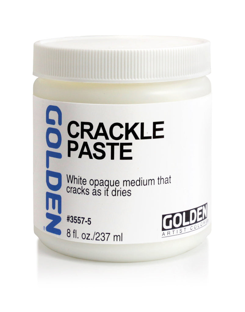 Golden Crackle Paste