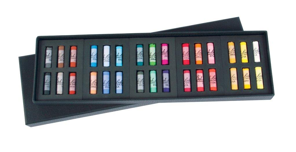 Artists' Medium-Soft Half-Stick Pastel Sets