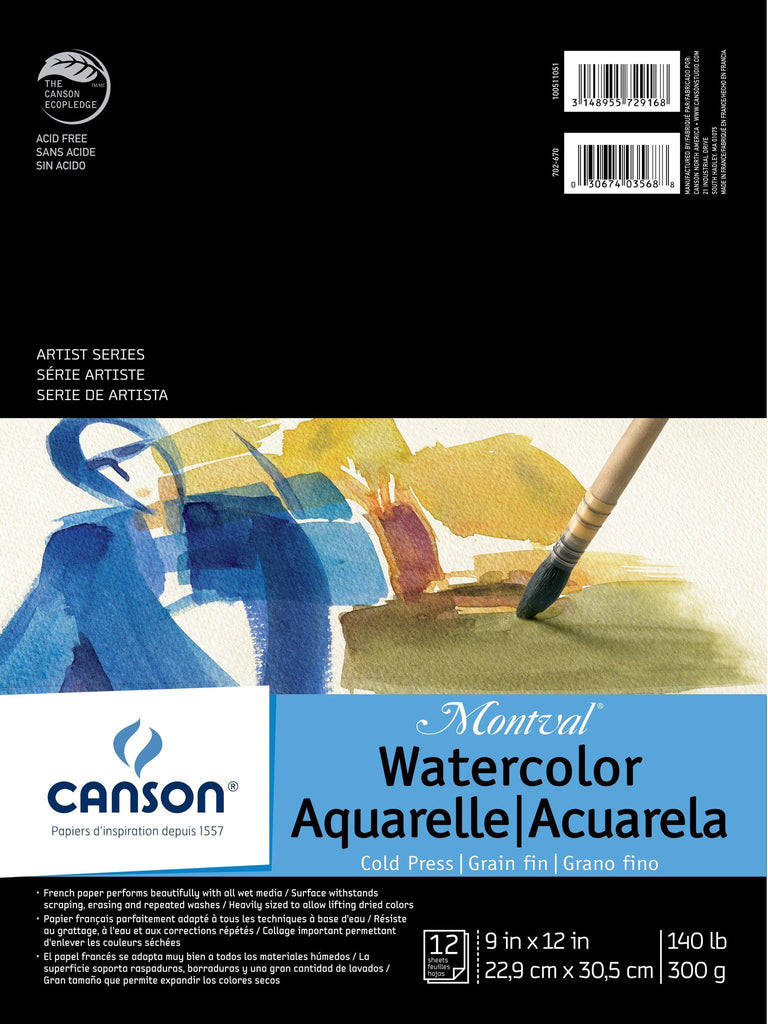Canson Montval Watercolour Pads