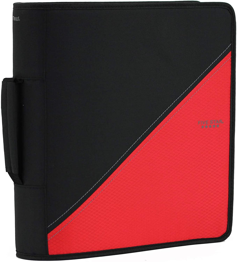 "Zippered 3"" Binders w/Handle"