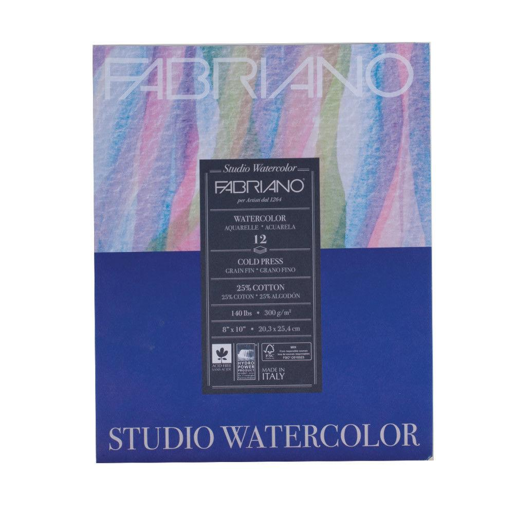 Fabriano Studio Watercolour Pads Coldpress
