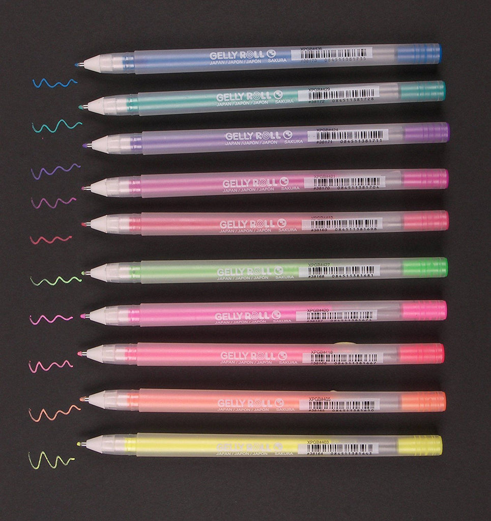 Moonlight Gelly Roll Pens - Singles