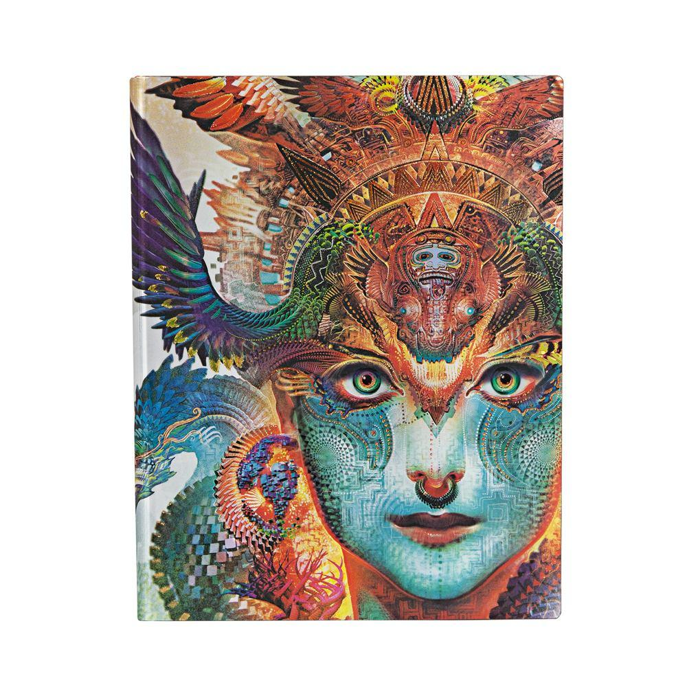 "Dharma Dragon 7x9"" Blank Flexi Journal"