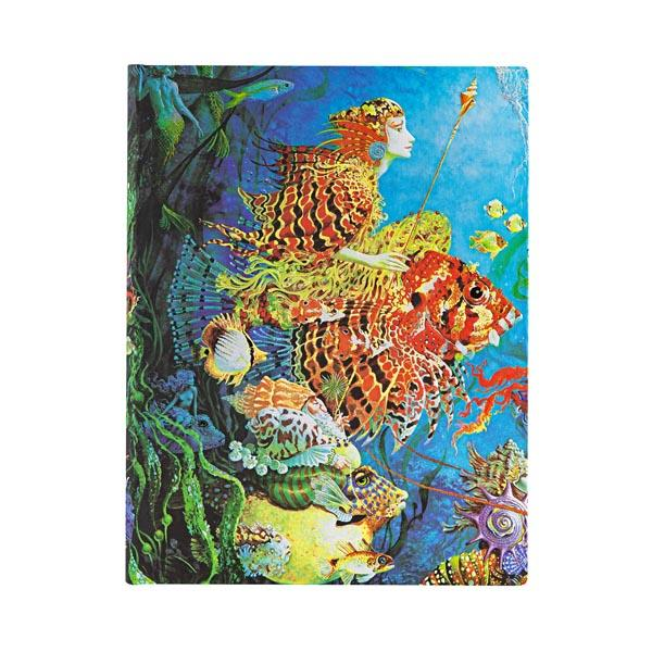 "Sea Fantasies 7x9"" Blank Journal"