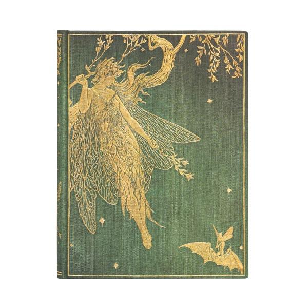 "Olive Fairy 7x9"" Blank Journal"