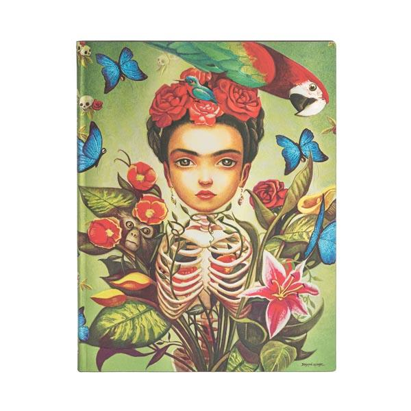 "Frida 7x9"" Blank Flexi Journal"